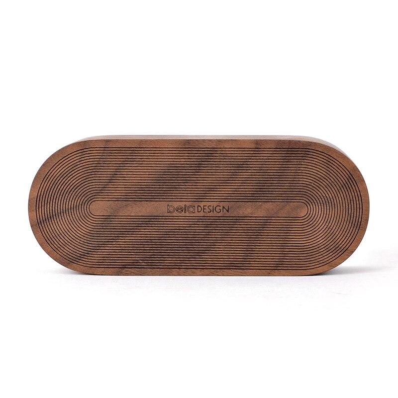 Simple round corner music box Log Sky City Music Box