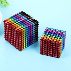 3mm 5 milímetros Ímãs de Construção Magnético Blocos de Contas Bolas Esferas Enigma Cube Magic Cube com ímã Caixa De Metal conjuntos para Adultos