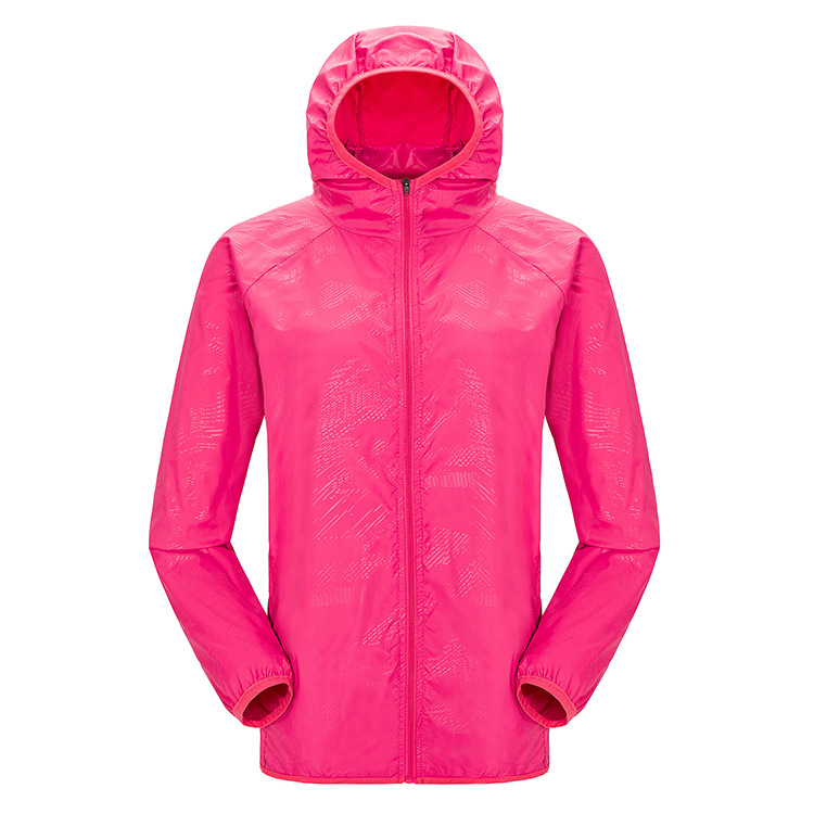 Thin Type For Spring And Autumn Single Layer Couples Raincoat Jacket Outdoor Men And Women Water Resistant Mountain Climbing Clo