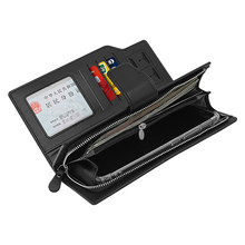 For Subaru Forester Outback Legacy XV Impreza Men Wallets Long Style High Quality Card Holder Male Purse Zipper Bag