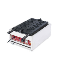 Electric Waffle Maker Machine Mini Plaid Cake Furnace Heating Machine Iron Sandwich Maker Machine Bubble Egg Cake Machine NP-221