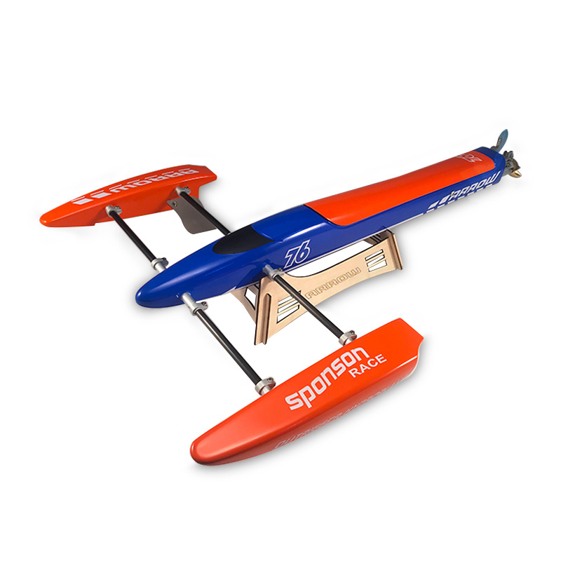 TFL 1128 Blue Arrow Outrigger Brushless Electric RC Boat with 2958 3300KV Motor & 125A ESC