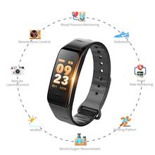 Color Screen C1S Smart Bracelet VS Fitness Waterproof Activity Heart Rate Monitor Blood Pressure Tracker
