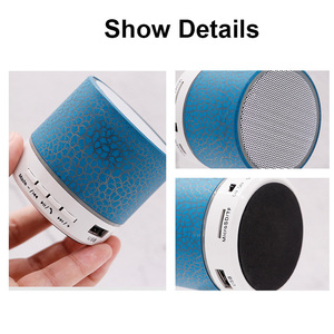 Image 4 - Mini Bluetooth Speaker Wireless Columnar Loudspeaker LED Stereo Subwoofer TF Card USB Mp3 Audio Music Player