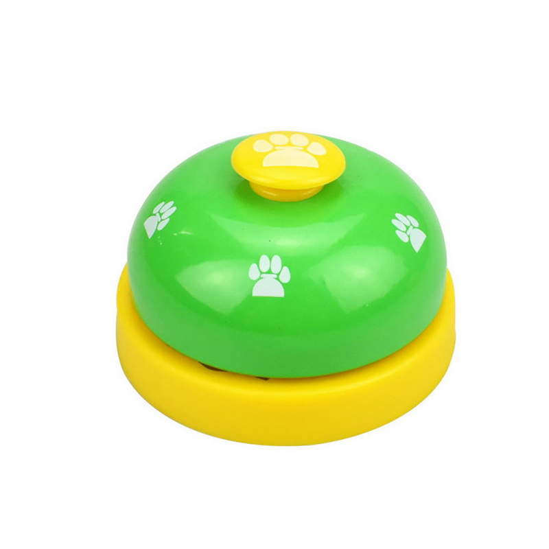New Pet Call Bell Toy for Dog Interactive Pet Training Bell Toys Cat Kitten Puppy Food Feed Reminder Feeding Ringer