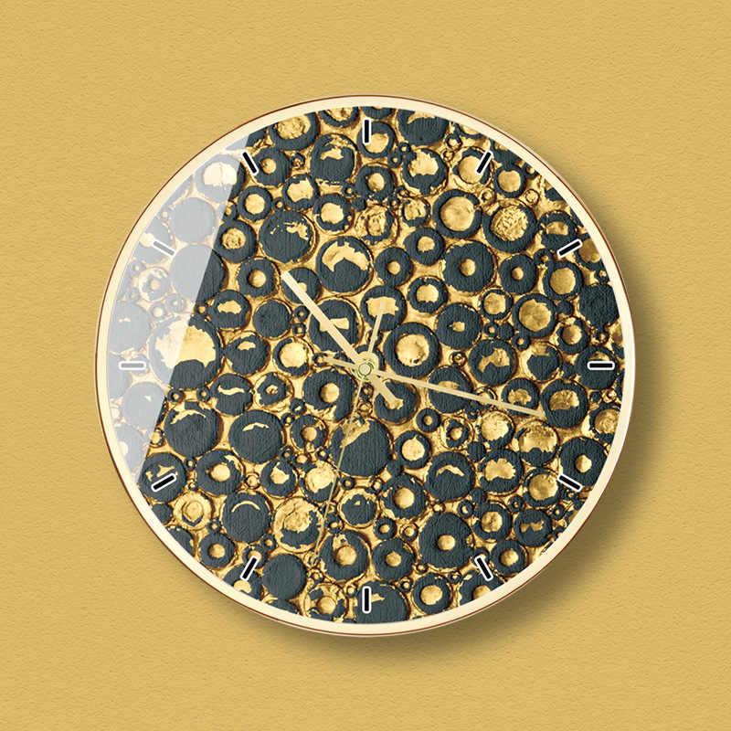 Креативные скандинавские стильные настенные часы, часы для гостиной, персональные часы, золотые, черные, хит продаж 2019 товаров, домашний декор 50Z045