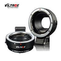 Viltrox EF-EOSM adaptateur d'objectif de mise au point automatique électronique pour objectif Canon EOS EF EF-S à EOS M EF-M M2 M3 M5 M6 M10 M50 M100 appareil photo