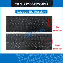 New Laptop Replacement keyboard RU Russian Layout For Macbook Pro Retina 13″ 15″ A1989 A1990 Russia Keyboard 2018