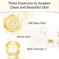 LANBENA Face Cleanser 24K Peptide Anti Aging Dense Foam Facial Cleaner Unclog Firming Antioxidant Grease Dirt Cleaning Skin Care 3