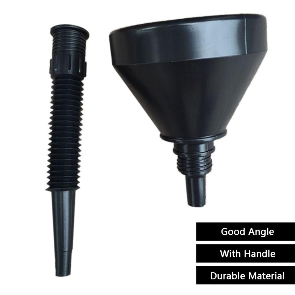 Funnel Can Spout For Oil Water Fuel Petrol Diesel Gasoline Universal For Auto Car Motorcycle Bike Truck
