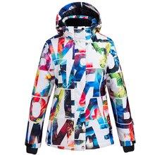 Snowboarding Jacket Waterproof Women Ski-Suit Skiing Winter Pants-Set Warm Thick High-Quality