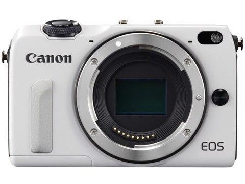 Corpo da Câmera sem Espelho Não com Lente Usado Canon Eos m2