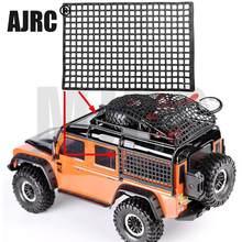 Bagagli in gomma Netto Decorazione Della Finestra per RC Crawler Axial SCX10 90046 RC4WD D90 Wraith RR10 D90 Traxxas TRX4 Slash UDR 90035