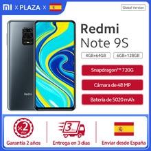 Xiaomi Redmi Note 9S los teléfonos móviles 4GB 64GB /6GB128GB Versión Global Smartphone Note 9S Snapdragon 720G 6,67