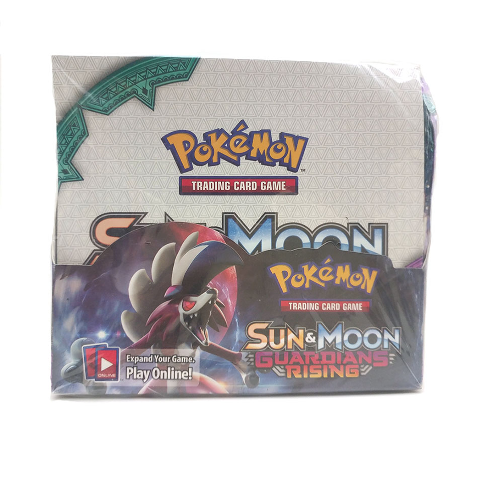 Pokemon 324PCS GX EX MEGA Cover Card 3D Version  Guardians Rising Card Collectible Gift Kids Toy Pokemon Cards