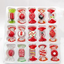 15 шт винтажные красные украшения для конфет ручной работы рождества