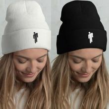 Fashion Beanie Stickman Women Men Knit Cap Hat Unisex Hip Hop Winter Hats for