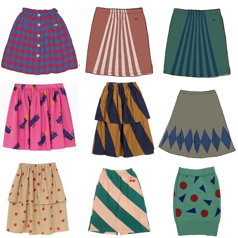 Baby Toddler Children Clothing School Plaid Girls Skirt Bottoming Princess Pleated Skirts Kids Short SKirt Children Clothes 1