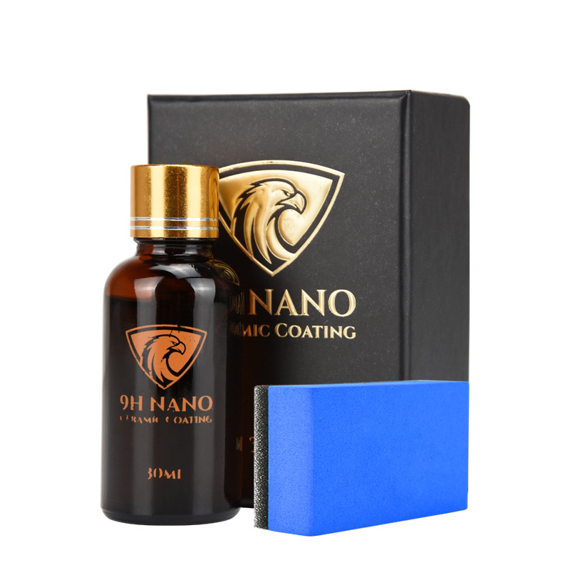 Ceramic Car Coating Liquid Glass 30ML 9H Waterproof Nano Hydrophobic Car Polish Anti-scratch Motorcycle Paint Care Protector