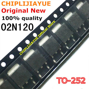 10PCS 02N120 TO-252 SGD02N120 TO252 1200V 12A New and Original IC Chipset