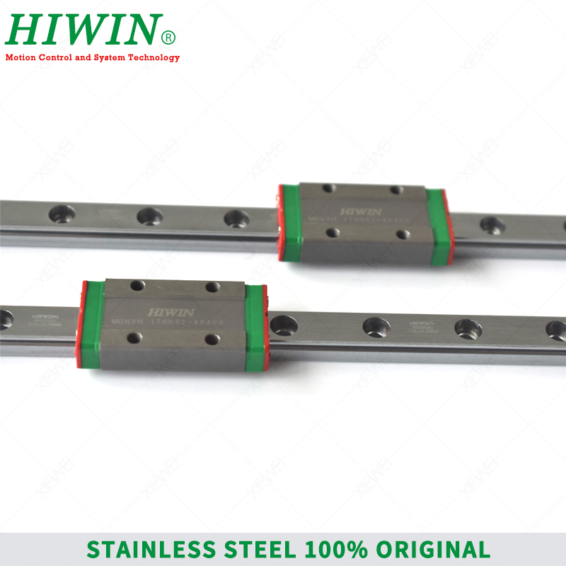 Image 4 - HIWIN  Stainless Steel  MGN9 150mm 250mm  350mm linear guide rail with MGN9H slide blocks Carriages  MGN9 Series  for 3D Printer-in Linear Guides from Home Improvement