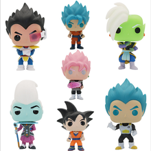 New Arrival Anime Dragon Ball Z Super Saiyan  Beerus Hit Gotenks Doll Action Figures Dragonball Figurine Collection Model Toy