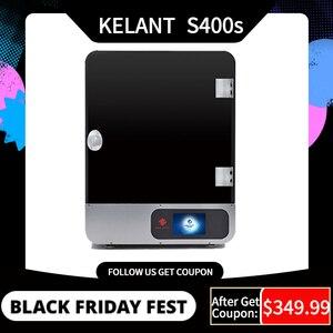 "Image 1 - Kelant S400S LCD DLP 3D מדפסות 8.9 ""2K לייזר 3d מדפסת UV שרף SLA 192*120*200MM 3d הדפסת הדפסת מסכות primpresora diy קיט"