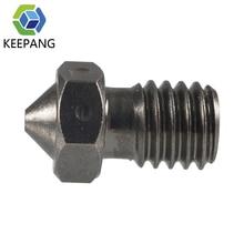 KeePang E3D Düse Super Hard Stahl Form Stahl V5 V6 Korrosion-Beständig Extruder M6 Schraube Gewinde 1,75mm 3D drucker Düse