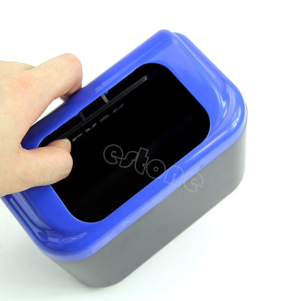 Mini Auto Car vehicle Trash Rubbish Can Garbage Dust Case Holder Box Bin Car Interior Stowing Tidying