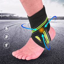 Sports Ankle Brace Compression Basketball Running Cyciling Ankle Bandage Support Strap Wrap Fitness Gym Foot Protector L675