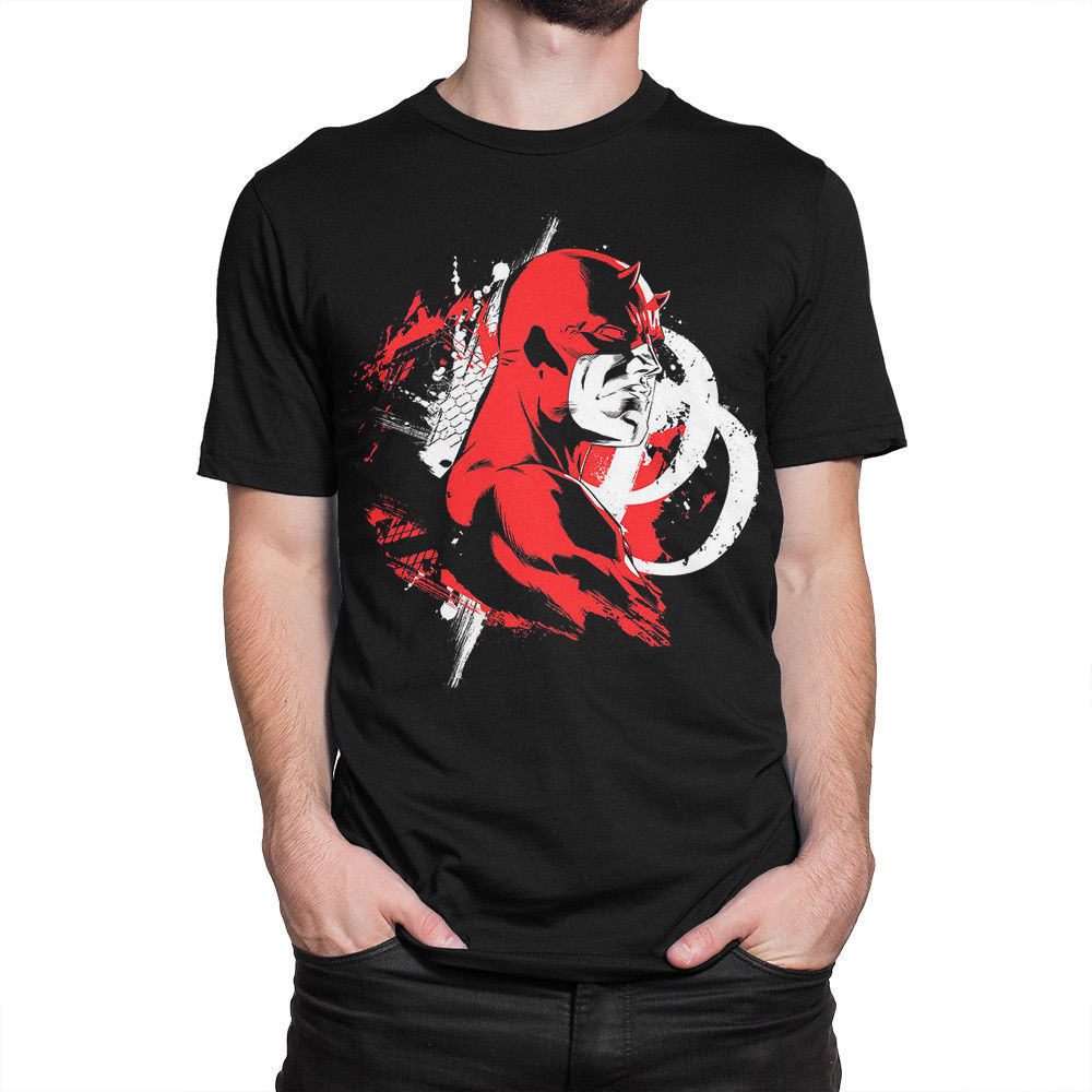 Daredevil T-Shirt, Marvel Comics Tee, Men'S Women'S All Sizes Superior Quality Tee Shirt image