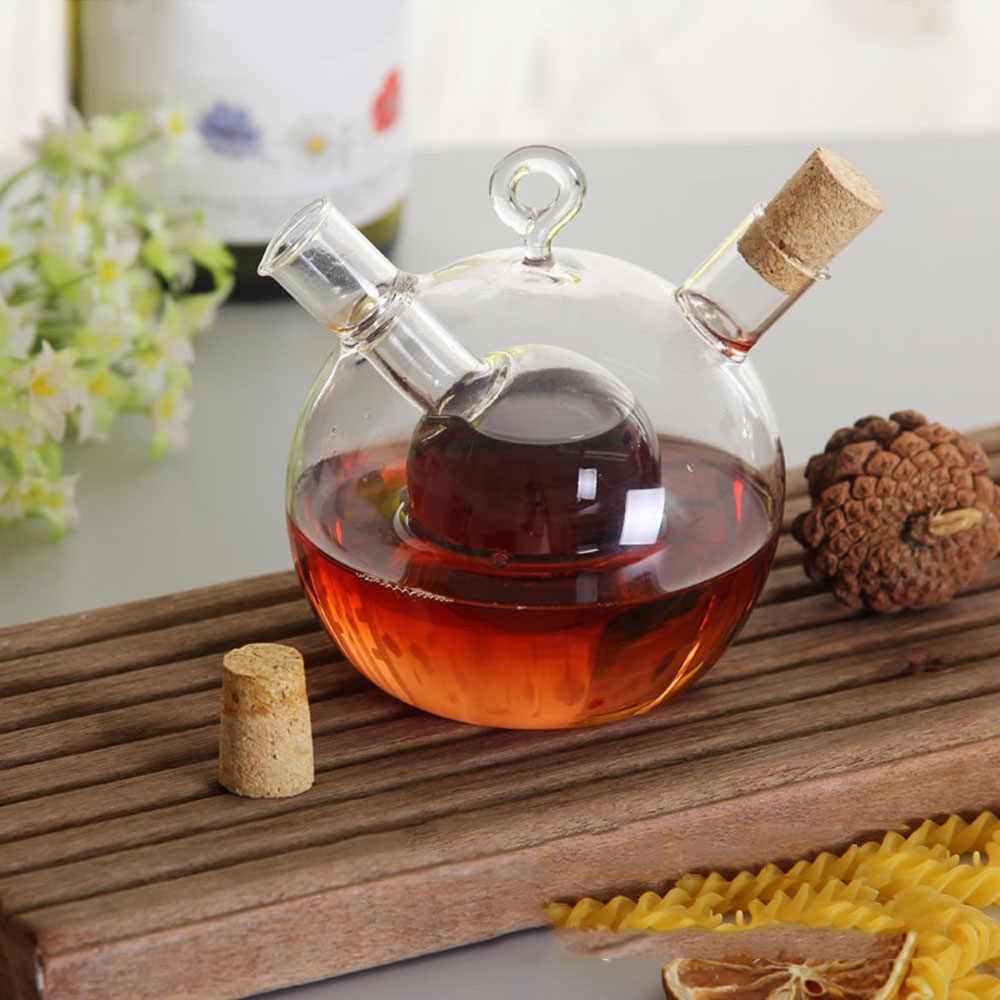 متعددة الوظائف زيت المطبخ الخل الأواني زجاجة توابل أطباق مانعة للتسرب صلصة زجاجة خل أدوات المائدة