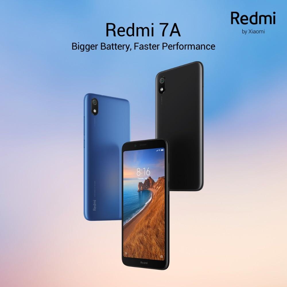 "H2b980a70af6b4f7f8ff70afef437d89dZ Global Version Xiaomi Redmi 7A MI Celular 2GB 16GB Smartphone Snapdargon 439 Octa Core 4000mAh AI Face Unlock 5.45"" 13MP Camera"