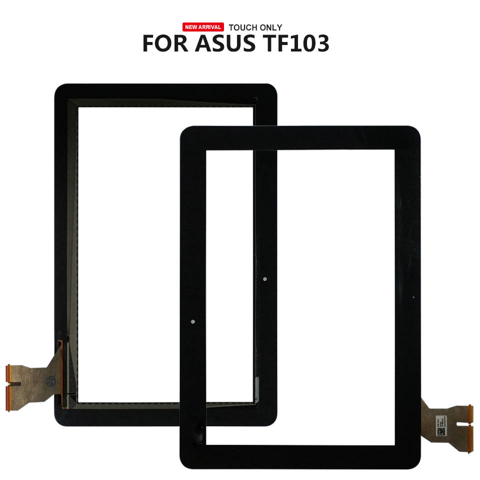 For ASUS Transformer Pad TF103 TF103CG K018 Touch Screen Glass Digitizer Panel Front Glass Lens Sensor
