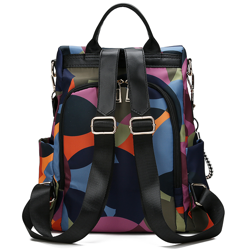 Mode sac à dos femmes Oxford tissu sac à bandoulière sacs d'école pour adolescentes lumière dames voyage sac à dos mochila feminina