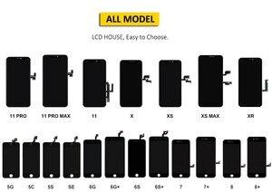Image 5 - Full Set Komplett Montiert LCD Display Für iPhone 6 6S 7 8 Plus LCD Touch Screen Digitizer Für iPhone 5S 5C 5 + Front Kamera