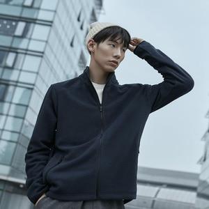 Image 2 - Nouvelle veste en polaire imperméable Youpin 90 points pour hommes, légère et chaude, sèche et non étouffante, anti mouillage