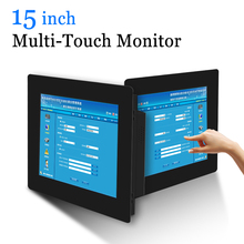 15 inch HDMI Monitor Multi Touch Screen USB Industrail Monit