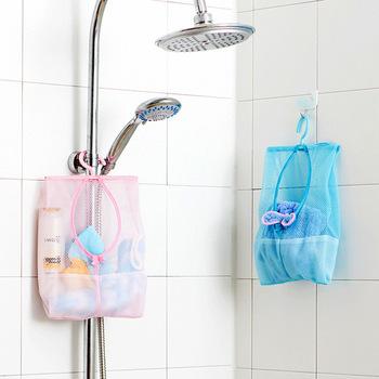 Wielofunkcyjna łazienka zabawki dla niemowląt wisząca torba do przechowywania worki siatkowe zabawki do kąpieli dla niemowląt ekologiczne siatki dziecko zabawki do kąpieli dla dzieci kosze tanie i dobre opinie Santtiwodo Z tworzywa sztucznego GQQ924 Other Unisex 0-12 miesięcy 13-24 miesięcy 2-4 lat 3 lat