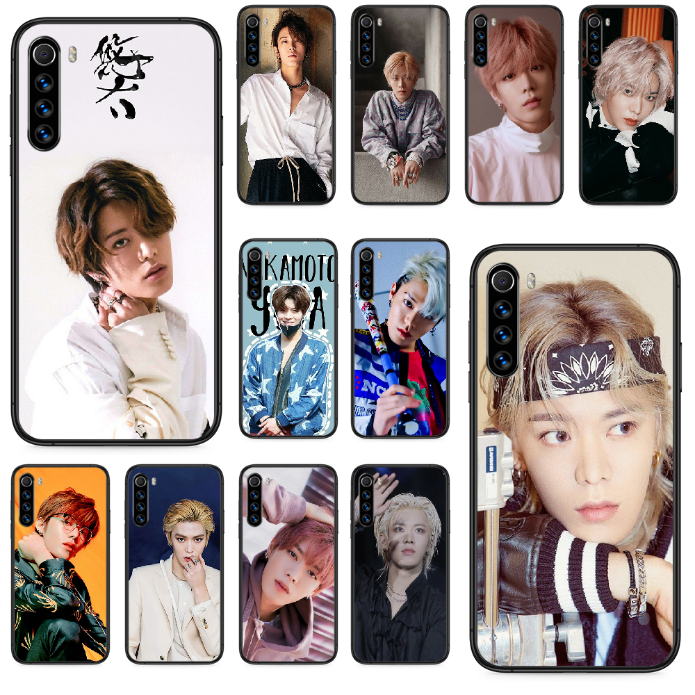 NCT Nakamoto Yuta Phone case For <font><b>Xiaomi</b></font> <font><b>Redmi</b></font> Note 4A <font><b>4X</b></font> 5 6 6A 7 7A 8 8A 4 5 5A 8T Plus Pro black Etui <font><b>3D</b></font> bumper trend coque image