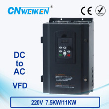 WK310 Vector Control frequency converter DC 200V-400V to Three-phase 220V 7.5kw11kw solar pump inverter with MPPT control