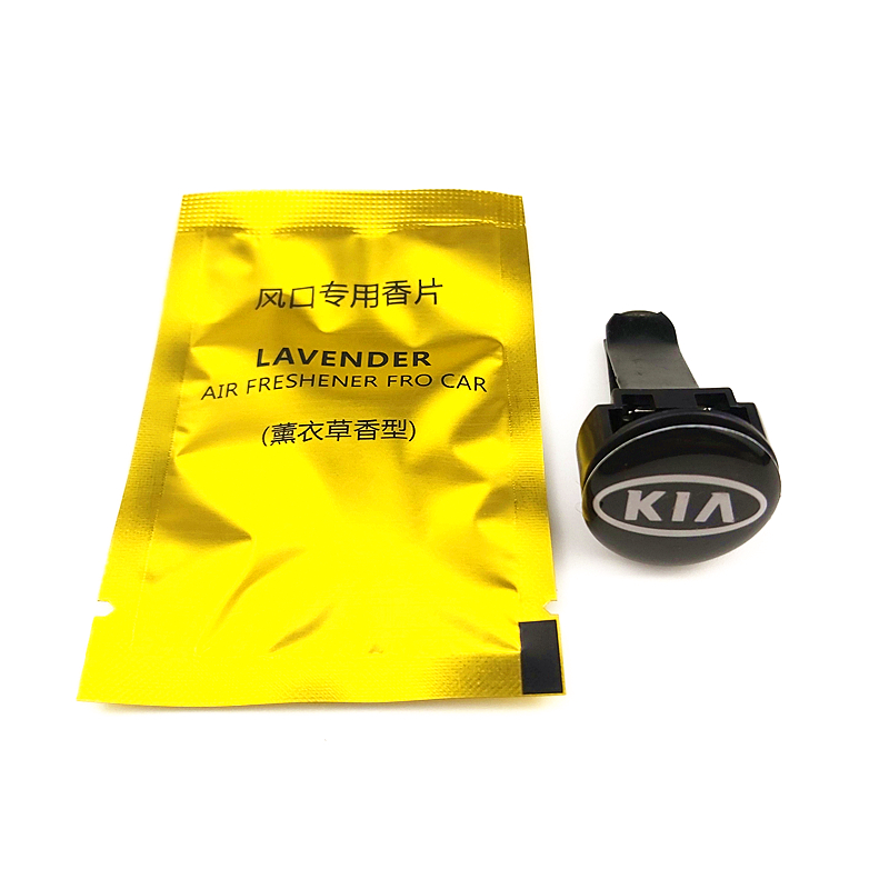 Car Air Freshener Auto outlet Perfume Vent Air freshener FOR <font><b>KIA</b></font> K2 K3 K5 k9 Sorento Sportage R Rio Soul Auto Accessories image
