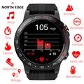 Northedge GPS Смарт-часы Бег Спорт GPS телефон с часами Bluetooth Вызов смартфон водонепроницаемый пульсометр компас Высота часы