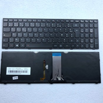 French(Azerty) Backlit Laptop Keyboard For Lenovo IdeaPad G50-70 B50 Z50 G50-30 G50-45 G50-80 300-15ISK G50-70AT Z50-70 M50-80 gzeele ru laptop keyboard for lenovo g50 70 g50 45 b50 g50 g50 70at g50 30 z50 g50 z50 b50 g50 70 b70 80 ru layout russian black