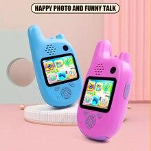 Kids Digital Camera Mini Video HD Toys Walkie Talkie Camcord