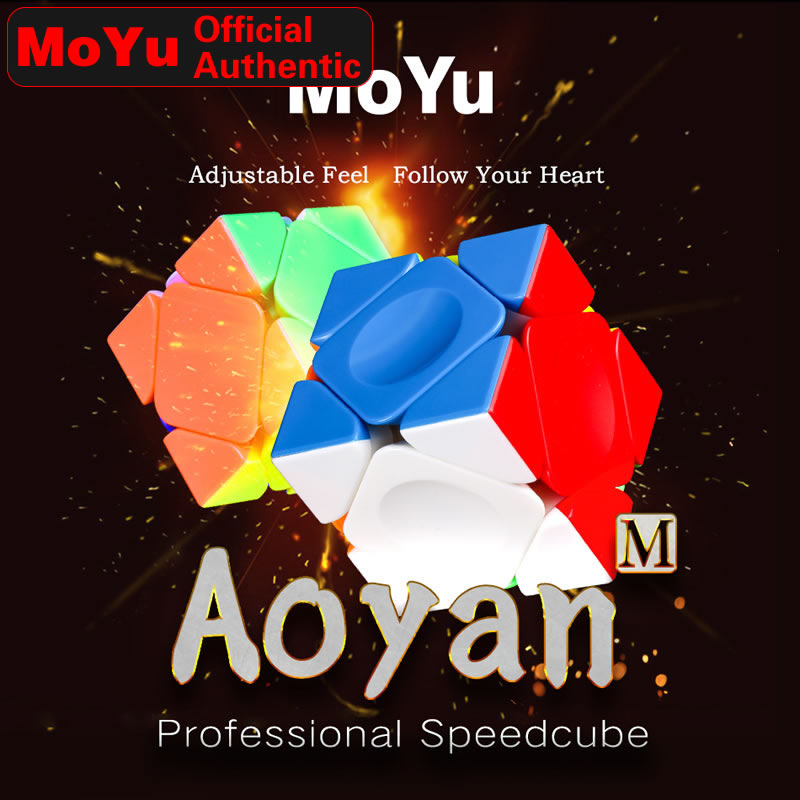 MoYu AoYan Skewed M Magnetic Magic Cube Skewbed Magnets Professional Neo Speed Cube Puzzle Antistress Toys For Children