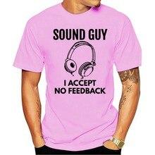 Mundos melhor engenheiro de som som cara ue aceito nenhum feedback roupas masculinas tamanho grande 2021 t-shirt