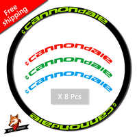 17 Decals MTB Rim set stickers two Wheel set Stickers for 26er 27.5er 29er inch Mountain bike Wheel Decals