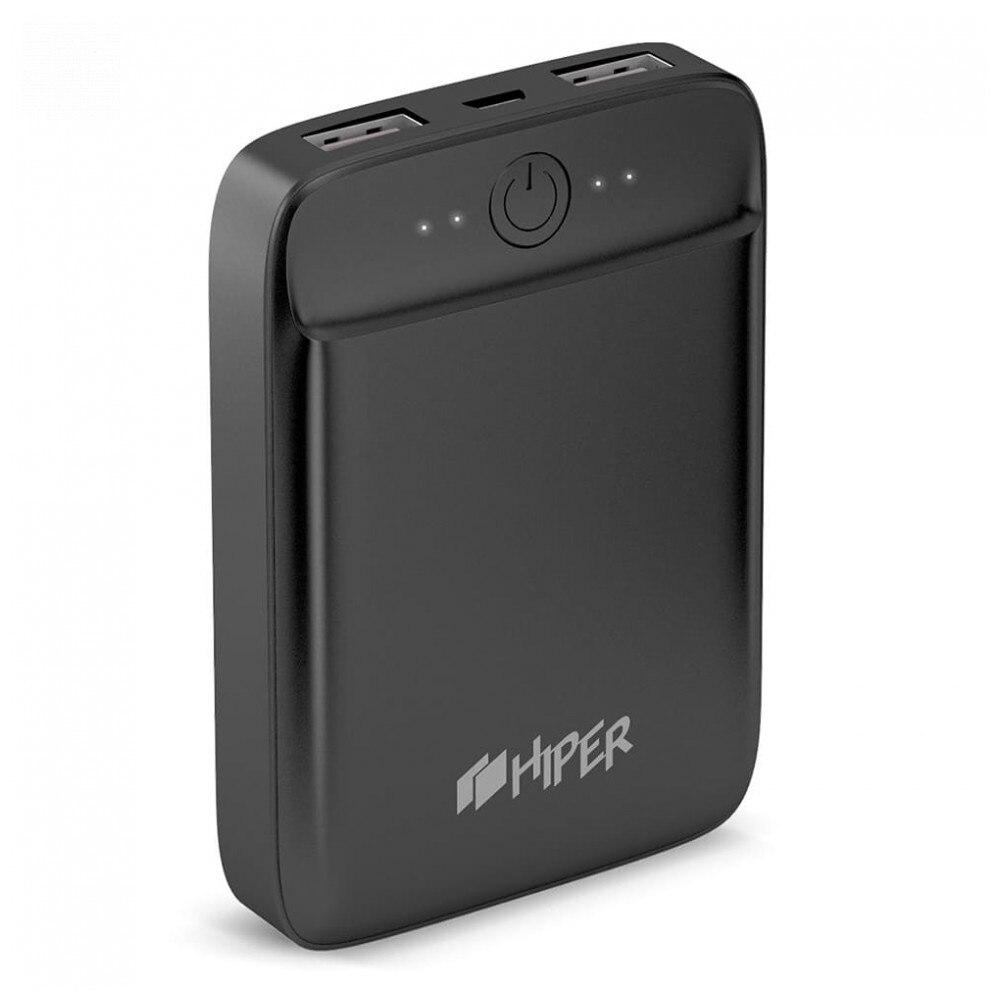 Power Bank HIPER SL10000 fast charge PD QC type-c macbook connector charger compact power banks external battery Powerbank Li-Pol 10000mAh 10000 mAh