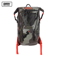 25L Outdoor Waterproof Bag Motorcycle Knight Bag Backpack Dry Sack Storage Bag Rafting Sports Kayaking Canoeing Travel Bag